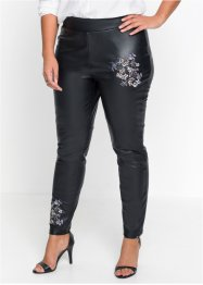 Leggings med broderi, BODYFLIRT