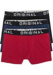 Boxertrosa (3-pack), bpc bonprix collection