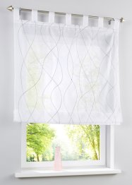Transparent hissgardin med broderi, bpc living bonprix collection