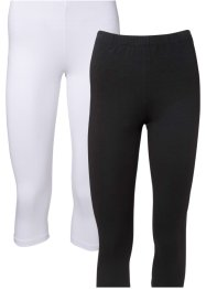Caprileggings (2-pack), BODYFLIRT