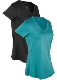 Sport-T-shirt, 2-pack, bpc bonprix collection