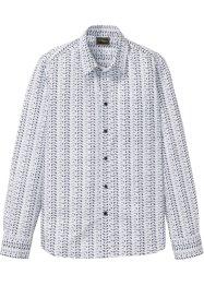 2dbe500b99da Långärmad skjorta med grafiskt mönster, smal passform, bpc selection