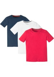 T-shirt, basmodell (3-pack), bpc bonprix collection