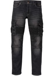 Stretchjeans i MC-stil, smal passform, straight, RAINBOW