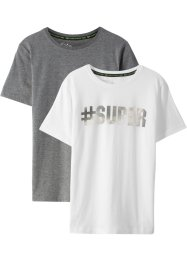 T-shirt (2-pack), bpc bonprix collection