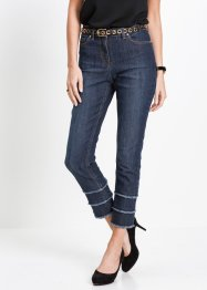 7/8-stretchjeans med fransar, bpc selection