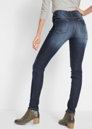 Jeansjeggings med komfortmidja, raka ben, bpc bonprix collection