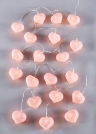 "LED-ljusslinga ""Cotton Heart"", bpc living"
