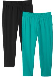 Trekvartsleggings (2-pack), bpc bonprix collection