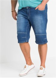 Stretchiga jeansshorts med bekvämt snitt, bpc bonprix collection