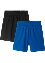Sportshorts för pojkar (2-pack), bpc bonprix collection