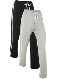 2-pack joggingbyxa, lång, nivå 1, bpc bonprix collection