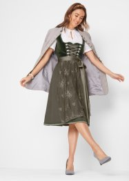 Dirndl i sammetsdesign, bpc bonprix collection