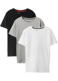 T-shirt för pojkar, basmodell (3-pack), bpc bonprix collection