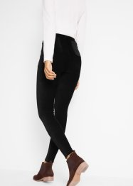 Leggings i fint manchestertyg med bred komfortmidja, bpc bonprix collection