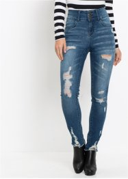 Destroyed high waist jeans, RAINBOW