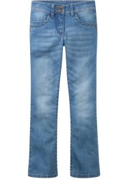 Stretchjeans i bootcut-modell, John Baner JEANSWEAR