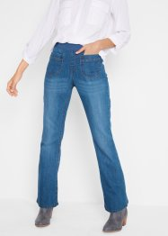 "Stretchjeans med bred jerseylinning, ""bootcut"", bpc bonprix collection"
