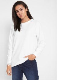 Sweatshirt med noppstruktur, bpc bonprix collection