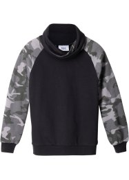 Sweatshirt med snygg krage, bpc bonprix collection