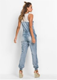 Jeansjumpsuit med spets, RAINBOW