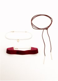Chokerhalsband (set med 3 delar), bpc bonprix collection