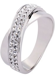 Ring med Swarovski®-kristaller, bpc bonprix collection