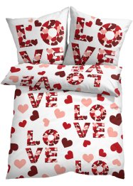 "Påslakanset med ""Love""-tryck, bpc living bonprix collection"