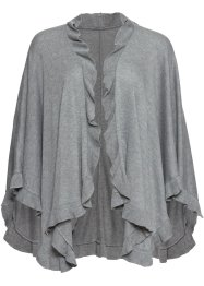 Poncho med kashmirandel, bpc bonprix collection