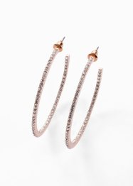 Creoler med Swarovski® kristaller, bpc bonprix collection