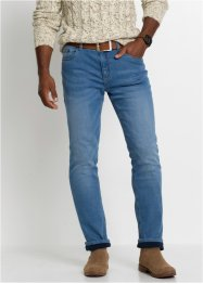 Stretchiga termojeans, normal passform, raka ben, John Baner JEANSWEAR