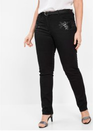 Jeans med blomsterapplikation, bpc selection premium