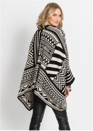Stickad poncho, BODYFLIRT boutique
