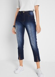 7/8-jeans med slits fram, bpc bonprix collection