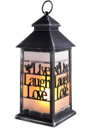 "LED-lykta med texten ""Live, Laugh, Love"", bpc living bonprix collection"