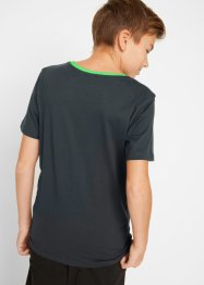 T-shirt för pojkar (2-pack), bpc bonprix collection