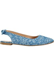 Ballerinasko med slingback, bpc bonprix collection
