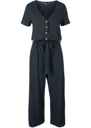 Kortärmad jumpsuit med insticksfickor, bpc bonprix collection