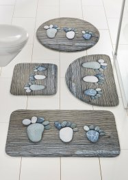 "Badrumsmatta ""Footprint"", memoryskum, bpc living bonprix collection"