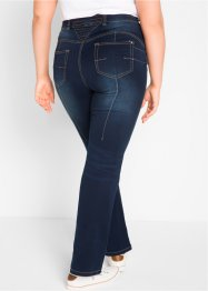 Push up-jeans med komfortmidja, bootcutmodell, bpc bonprix collection