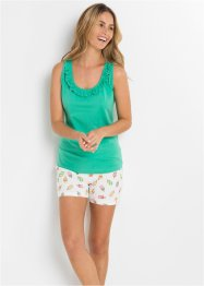 Pyjamas med shorts, bpc bonprix collection