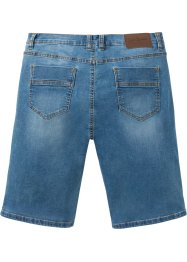 Jeansbermudas i multistretch, normal passform, John Baner JEANSWEAR