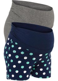 Mammashorts (2-pack), ekologisk bomull, bpc bonprix collection - Nice Size
