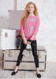 Longshirt + leggings för flickor (2 delar), bpc bonprix collection