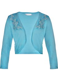 Stickad bolero med spets, bpc selection