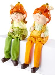 "Prydnadsfigur ""Boy & Girl"" (2 delar), bpc living bonprix collection"