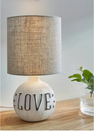 "Bordslampa ""Love"", bpc living bonprix collection"