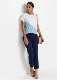 Topp med colour blocking-look, BODYFLIRT