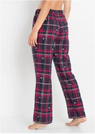 Pyjamasbyxa i flanell, bpc bonprix collection
