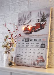Kalender med LED-belysning, bpc living bonprix collection